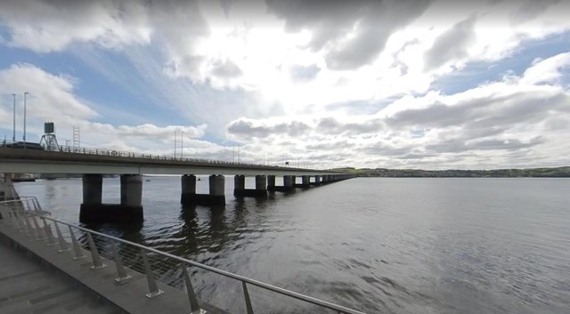 A man has been charged after jumping off the Tay Road Bridgeon Friday evening.