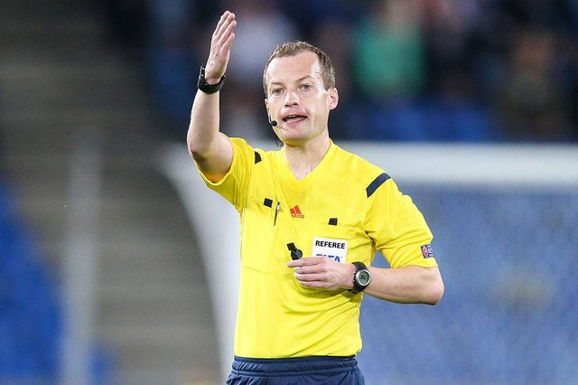 Willie Collum will take charge of his first Old Firm encounter since the 2019 Betfred Cup final. Picture: Getty