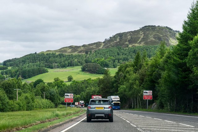 A total of 11 sections of the A9 between Inverness and Perth are due to be dualled by 2025. Picture: John Devlin