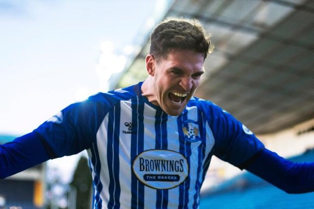 Kyle Lafferty scored 13 goals in a short stay at Kilmarnock.  (Photo by Roddy Scott / SNS Group)