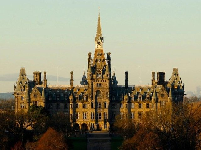Fettes College, one of Scotland's boarding schools.