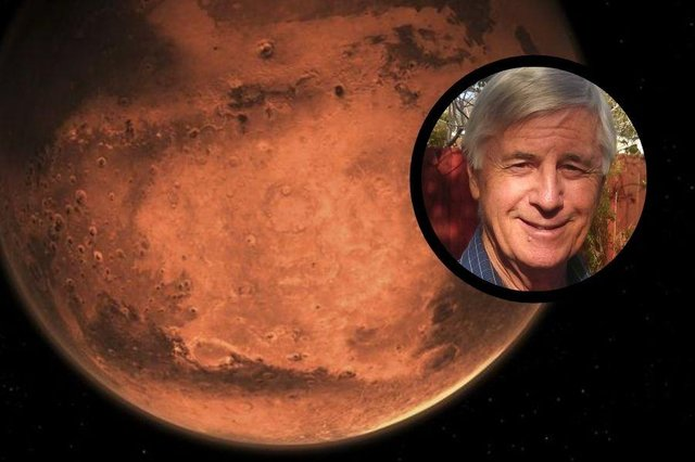 Alex Nicolson worked on the Mars Curiosity Rover which landed on the planet in 2012.