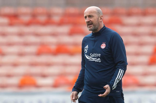 Aberdeen interim manager Paul Sheerin bowed out with a much-needed 1-0 win at St Johnstone  (Photo by Craig Foy / SNS Group)