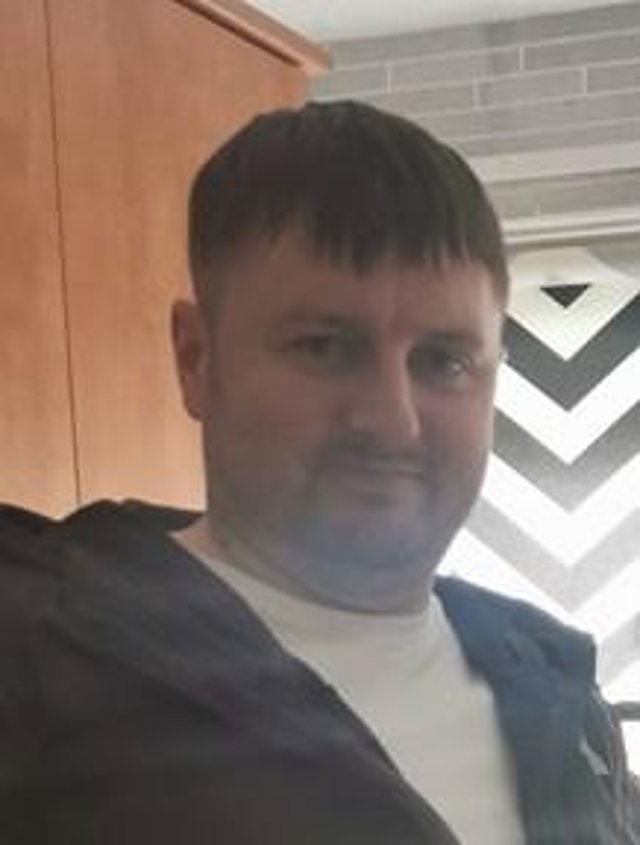 Stephen Brown, 39, from Viewpark, was struck by a lorry whilst crossing Kirkshaws Road at around 11.40 am last Tuesday morning (Photo: Police Scotland).