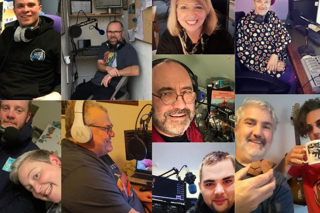 Volunteer community radio presenters from all over Scotland from the Shetland Isles to Dumfries pictures: supplied
