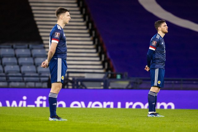Scotland players took a stand against racism prior to the Austria match in March - and they will do likewise at the Euros.