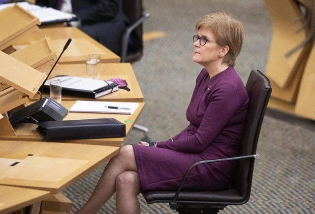 Nicola Sturgeon's involvement around harassment complaints against Alex Salmond is under scrutiny