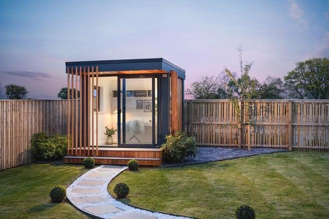 Cala et Urbanpods offrent aux acheteurs la possibilité d'ajouter un bureau à domicile sur mesure ou un espace détente dans le jardin de leur nouveau bâtiment
