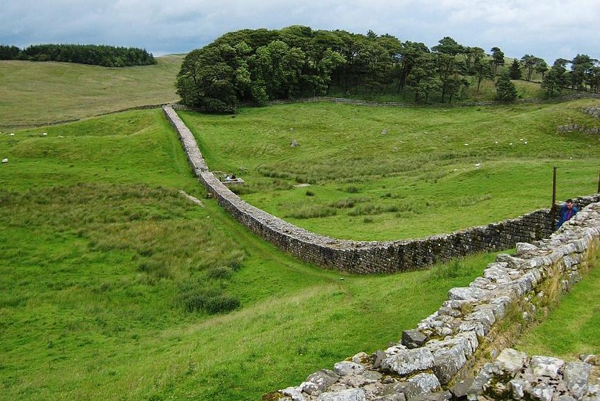The story of how stone from Hadrian's Wall was plundered during the medieval era