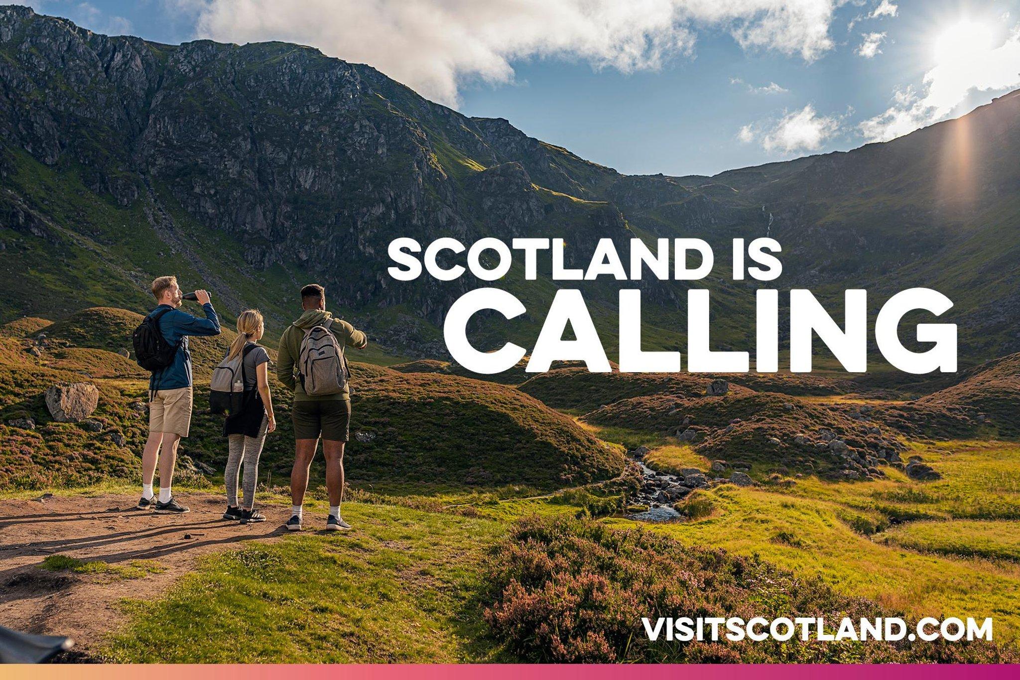 Pengunjung luar negeri didesak untuk merangkul 'perjalanan lambat' dalam kampanye baru untuk membawa mereka kembali ke Skotlandia