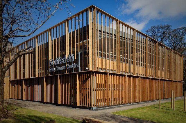 The consultancy has also worked on four recently completed early-years projects for East Dunbartonshire Council. Picture: contributed.