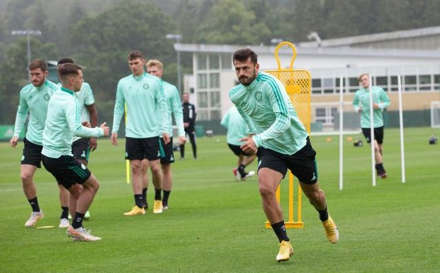 Swiss striker Albian Ajeti, pictured on his return to pre-season training last week, has struggled to make an impact at Celtic since his £5 million move from West Ham United last year. (Photo by Craig Williamson / SNS Group)