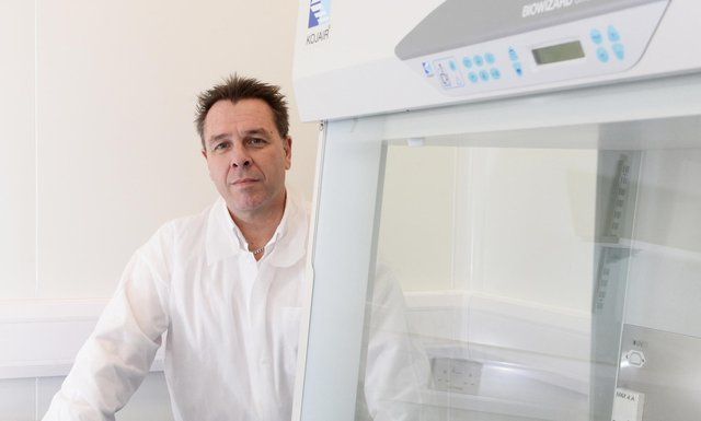 TC BioPharm's chief executive Dr Michael Leek believes it represents an exciting investment opportunity. Picture: Jacqueline Bradley.