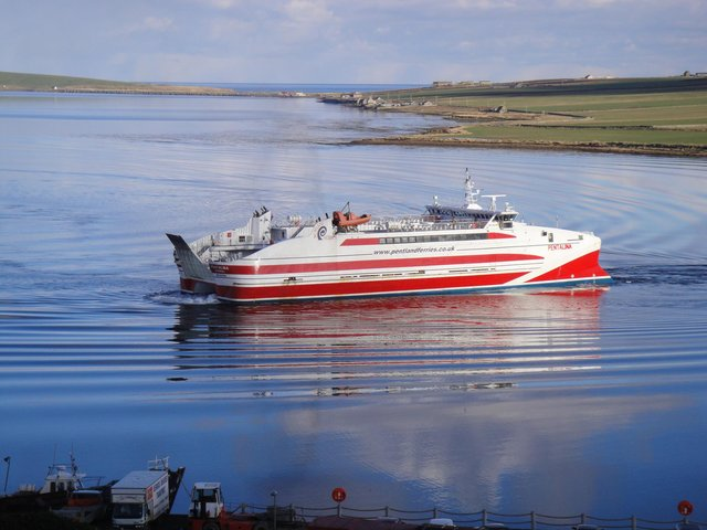 MV Pentalina has been out of passenger service apart from some brief private contracts since 2019. Picture: Pentland Ferries