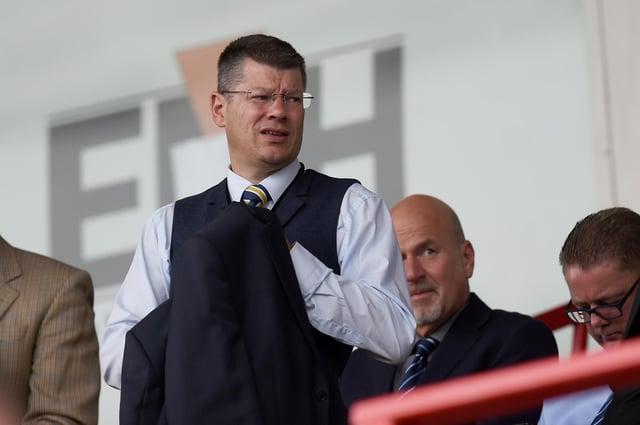 SPFL chief executive Neil Doncaster.