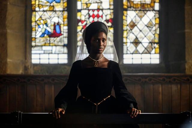 Jodie Turner-Smith stands trial at Anne Boleyn