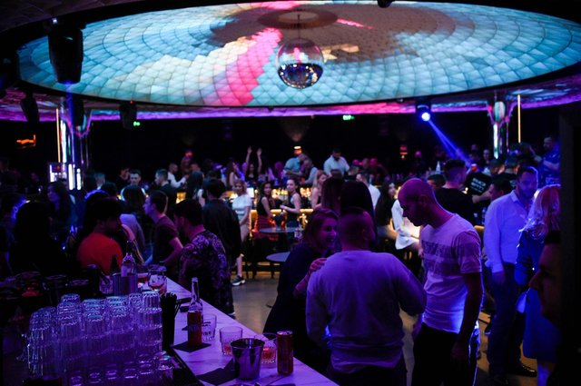 Nightclubs in other parts of Europe, such as this one in Sofia, have already opened their doors to a 50 per cent capacity limit following months of closure due to the Covid-19 pandemic. Picture: Nikolay Doychinov/AFP via Getty Images