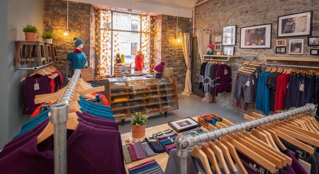 The firm has a bricks-and-mortar presence in Innerleithen. Picture: Phil Wilkinson.