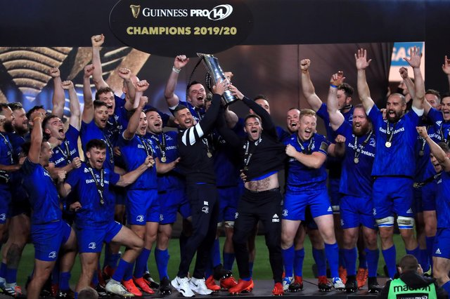 Irish rugby is flourishing. Their teams are riding high in the Pro14, with Leinster going for their fourth successive title. Picture: Donall Farmer/PA