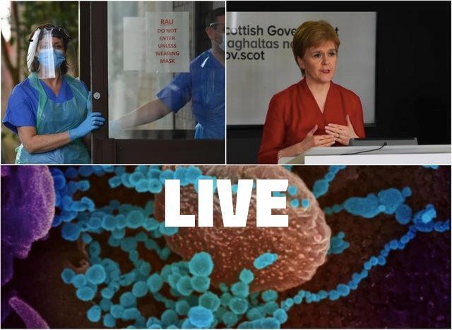 Coronavirus in Scotland LIVE: The latest updates on Thursday