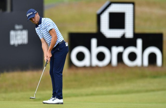 Justin Thomas prepares for the abrdn Scottish Open at The Renaissance Club. Picture: Mark Runnacles/Getty Images.