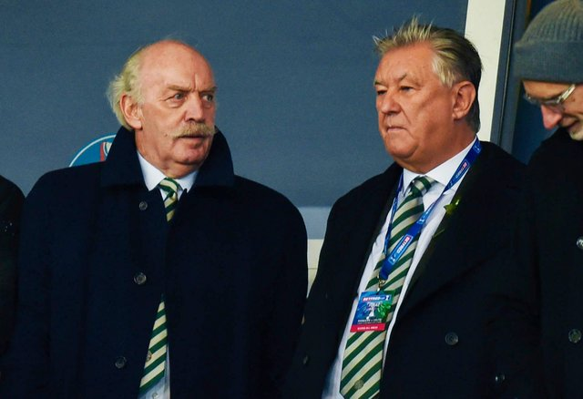 Dermot Desmond provided a Celtic manager search update. Picture: SNS