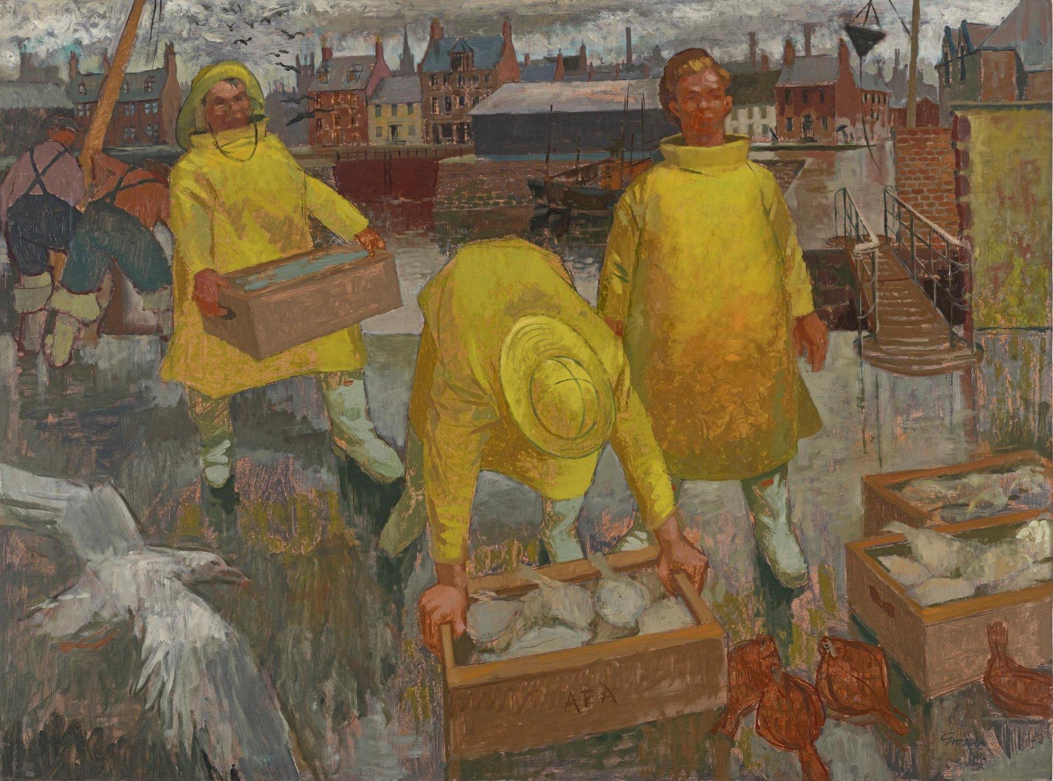 Karya seniman terkemuka Skotlandia dipertemukan untuk pertama kalinya di pameran Edinburgh yang baru