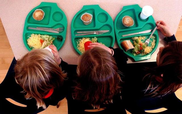 Douglas Ross has been accused of hypocrisy over free school meals.