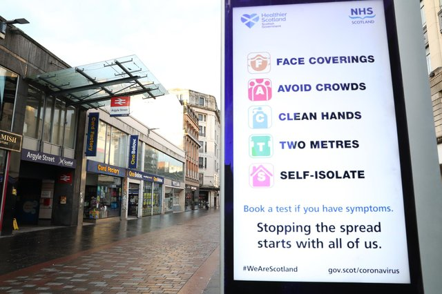 More businesses in Scotland could shut as Nicola Sturgeon explores tightening restrictions on essential retail.