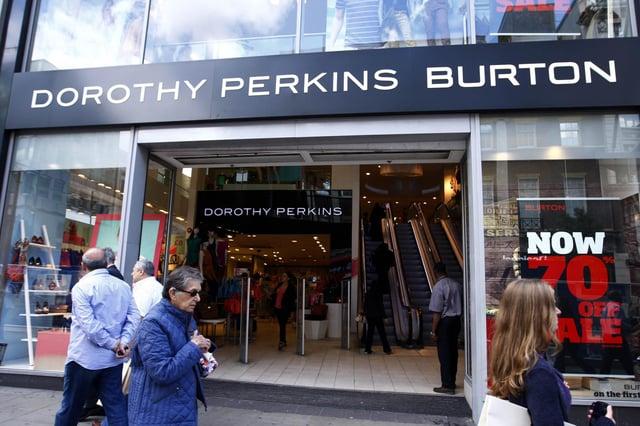 A Dorothy Perkins Burton store on London's Oxford Street.