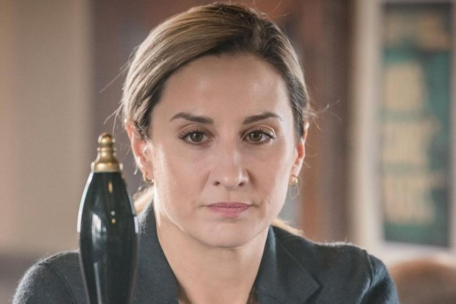 Helensburgh-born Morven Christie leads as DS Lisa Armstrong for a second series (Picture: ITV)