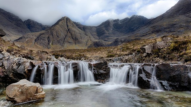 The Fairy Pools, Glenbrittle, Skye, have become one of the island's most popular tourist draws with visitor numbers soaring in recent years. PIC: Lauri Sten/Flickr/CC.