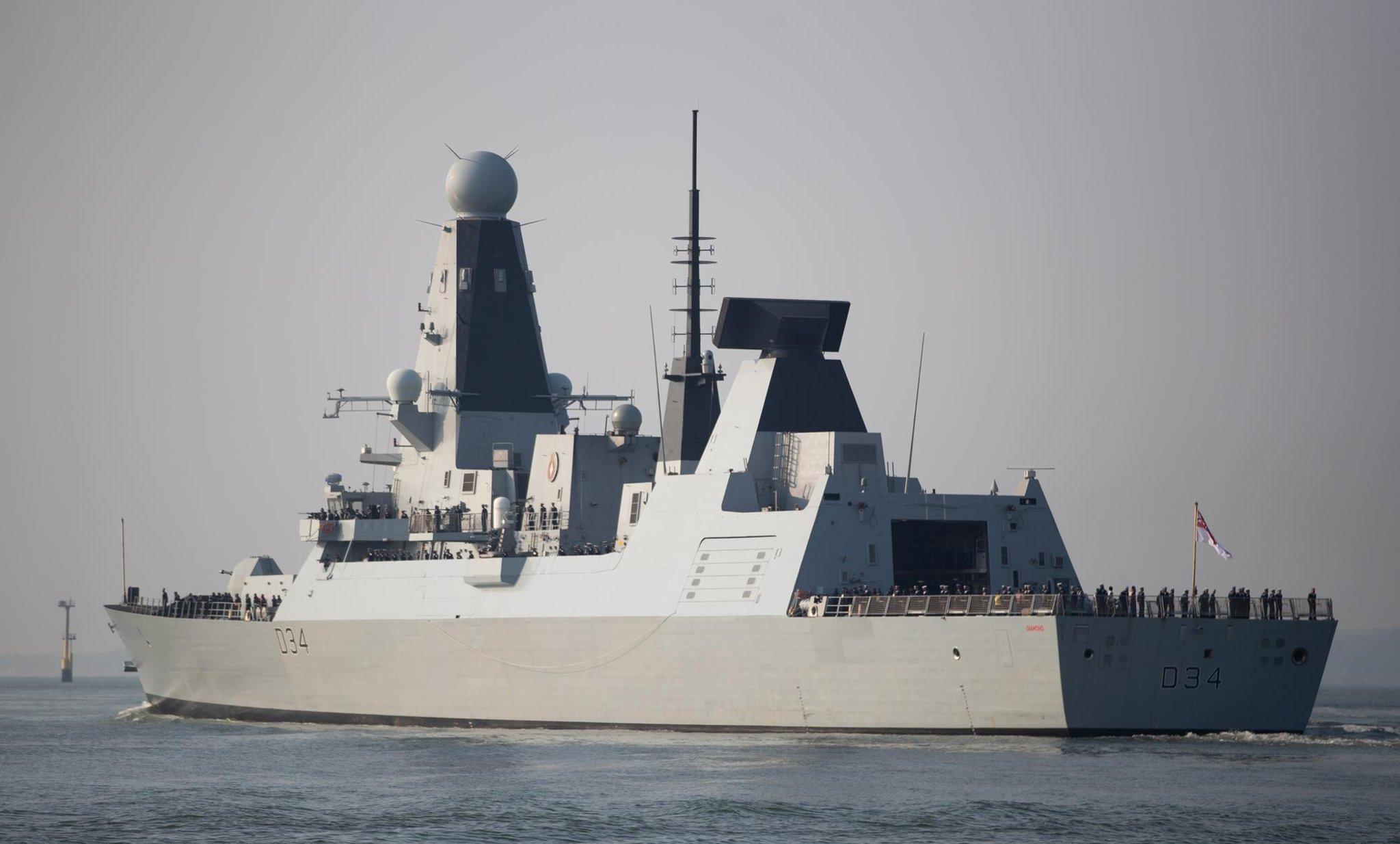 Royal Navy set sail for massive NATO wargame off the coast of Scotland