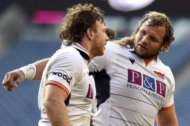 Pierre Schoeman, right, suffered a knee injury sustained in his team's win over Connacht last Saturday