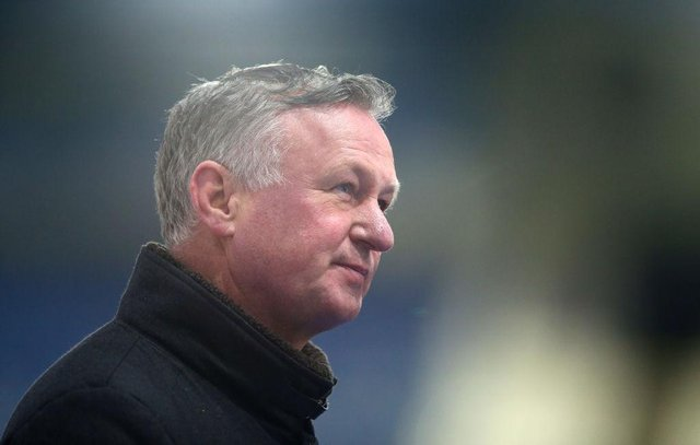 Stoke City manager Michael O'Neill. (Photo by Alex Livesey/Getty Images)