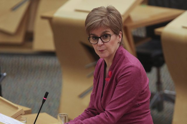Nicola Sturgeon says 'no one should be travelling overseas right now, unless for absolutely essential purposes'