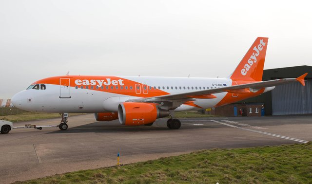 Easyjet is restoring UK flights following the easing of Covid travel restrictions. Picture: Tim Anderson