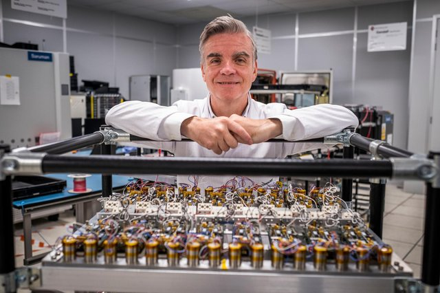 Managing director John Cameron, who led the management buy-in at Livingston-based electronic manufacturing services company CB Technology. Picture: Chris Watt Photography