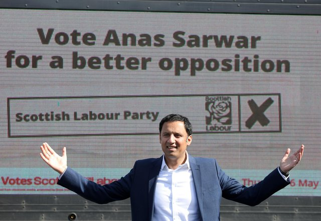 Scottish Labour leader Anas Sarwar in Edinburgh.