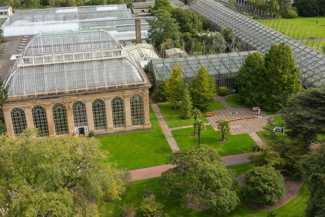 The Royal Botanic Garden in Edinburgh is currently open to the public.