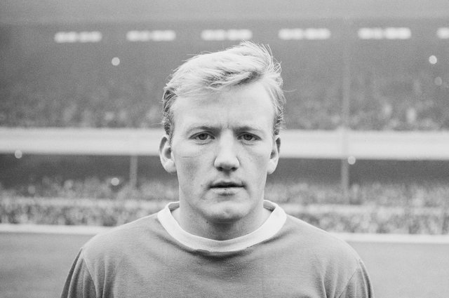 Jimmy Gabriel, pictured in 1964 during his time with Everton