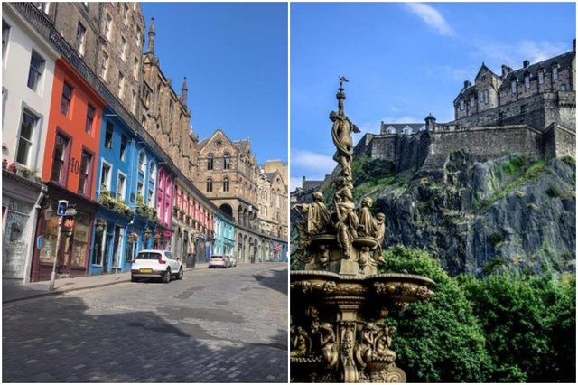 'Edinburgh has been the Scottish capital since the 15th century. It has two distinct areas: the Old Town, dominated by a medieval fortress; and the neoclassical New Town, whose development from the 18th century onwards had a far-reaching influence on European urban planning. The harmonious juxtaposition of these two contrasting historic areas, each with many important buildings, is what gives the city its unique character,' according to the UNESCO website