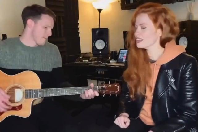 Stephanie Cheape and Rory Docherty