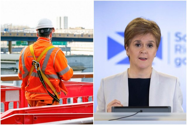 Construction sites across Scotland can now restart work that was abandoned at the start of the lockdown.