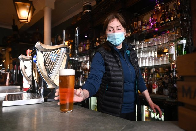 Pubs can now serve drinks indoors again
