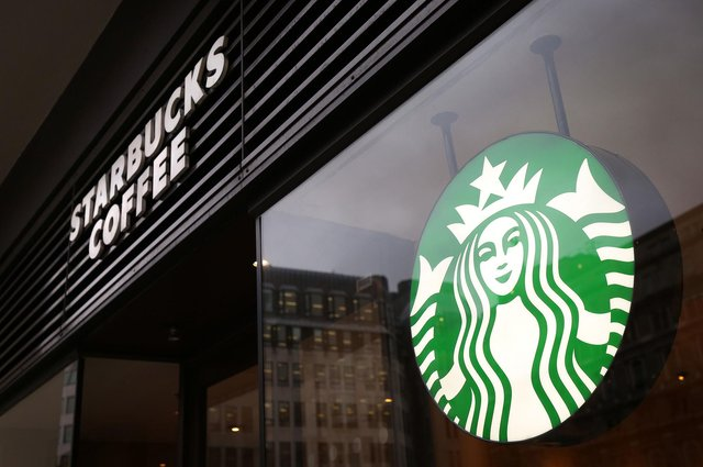 There was some recovery for coffee giant Starbucks when stores were allowed to reopen last summer. Picture: Philip Toscano/PA