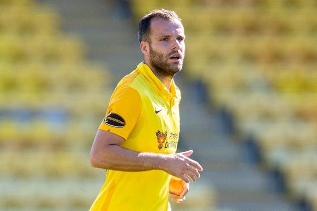 Matej Poplatnik netted the winning goal for Livingston. Picture: SNS