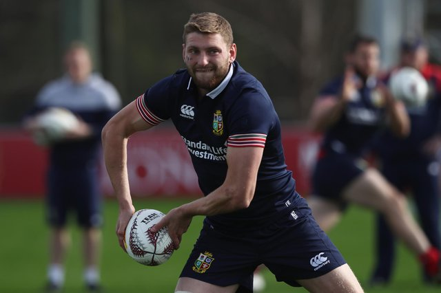 Finn Russell was part of the Lions tour in 2017 in New Zealand but is expected to play a far bigger role this time. Picture: David Rogers/Getty Images
