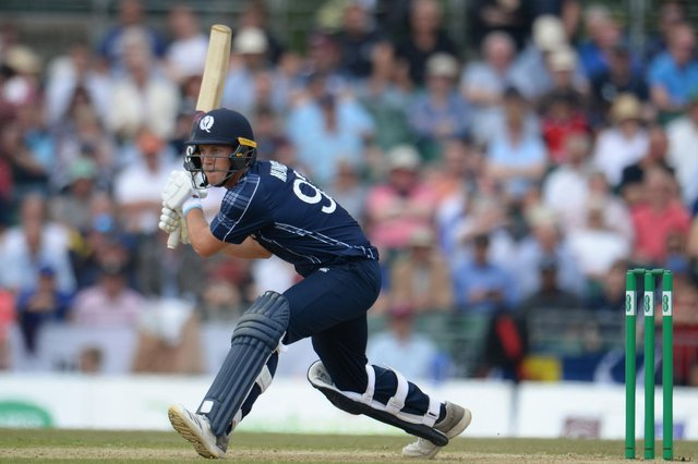 George Munsey hit a superb unbeaten 79 from 100 balls as Scotland beat the Netherlands in the second ODI.