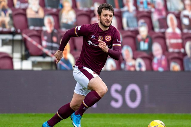 Hearts defender Craig Halkett is frustrated with recent results.
